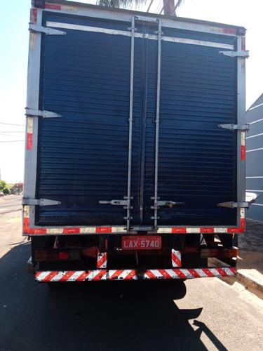 caminhão mercedes 914 baú refrigerado