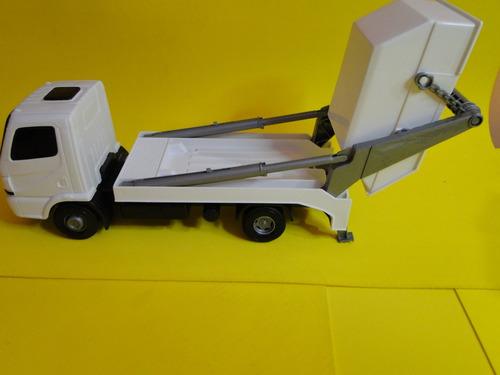 caminhão mercedes atego lixo entulho basculante carroceria