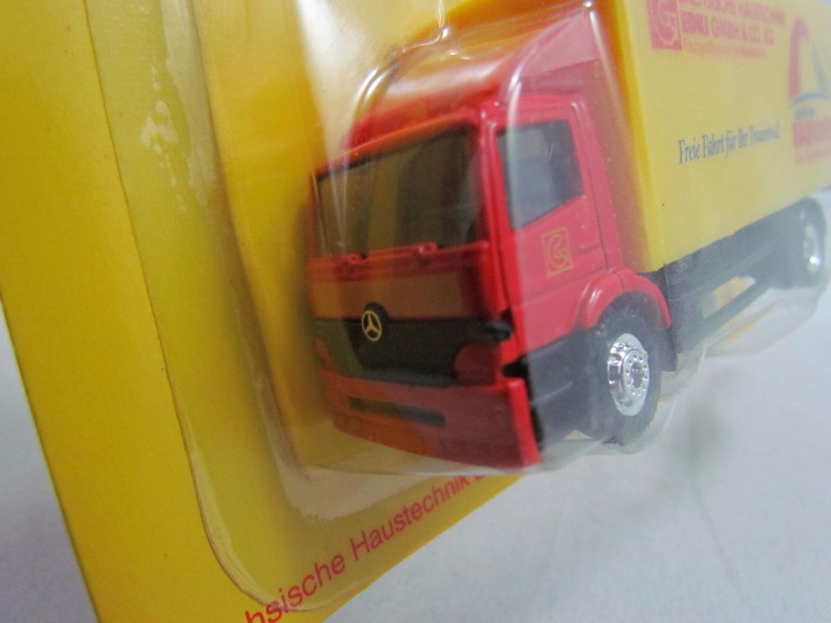 Caminhão Mercedes Baú Spritzige Badideen #209 Grell 1:87 - R$ 29,99 ...