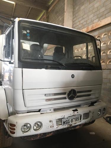 caminhão mercedes bens 2423-b 8m³ - locação e venda - 2008
