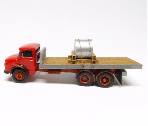 caminhão mercedes benz 1113 carga - perez ferromodelismo