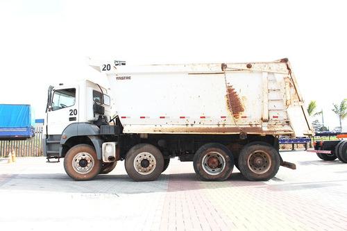 caminhão mercedes benz 4144 8x4 2009 caçamba 18.000kg