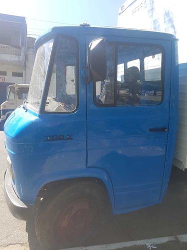 caminhão mercedes benz 708 baú azul