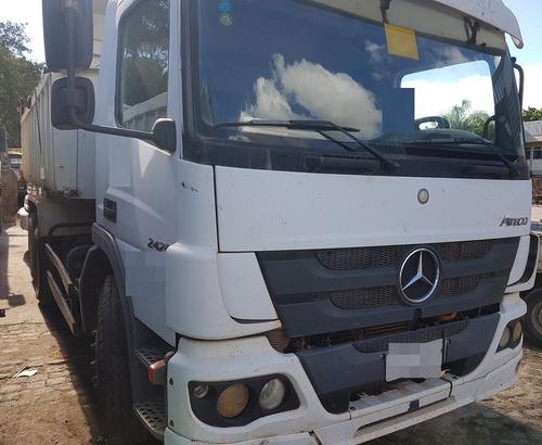caminhão mercedes-benz atego 2426 6x2 ano: 2012