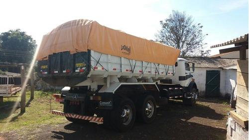 caminhão mercedes benz basculante/batatais caminhões