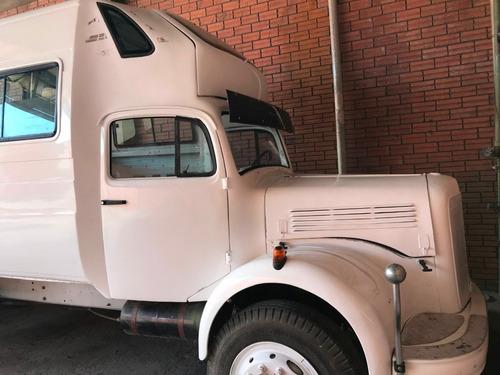 caminhão mercedes-benz l-312 ano 1957
