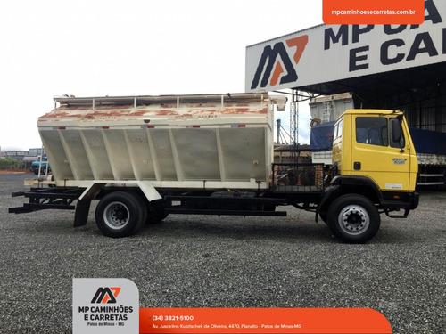 caminhão mercedes-benz mb 1214 carroceria silo graneleiro