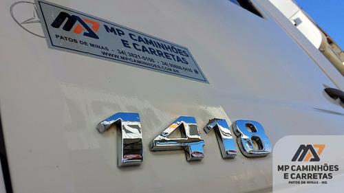 caminhão mercedes-benz mb 1418 caçamba basculante 2006