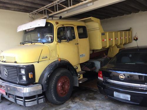 caminhão mercedes-benz mb 1519 basculante