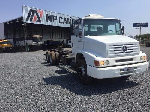 caminhão mercedes benz mb 1620 6x2 chassi 2004