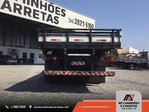 caminhão mercedes-benz mb 2013 carroceria de madeira truck