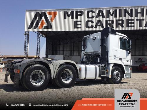 caminhão mercedes- benz mb 2546 ls actros  ano 2013 top!!!
