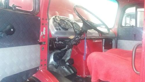 caminhão mercedes benz tuck bau 1313 76 novissimo