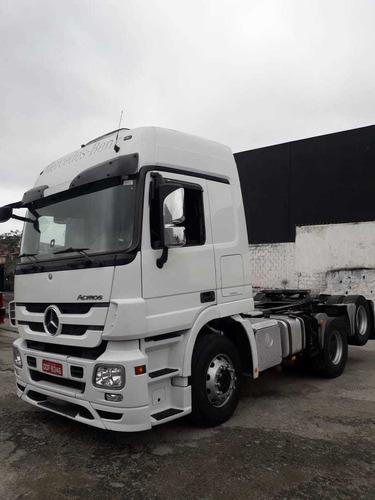 caminhão mercedez 6/4 automatica 2012 mb2526 cod. acttros