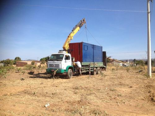 caminhão munck 26260 2011 worker munck+prancha c/ rampa hidr