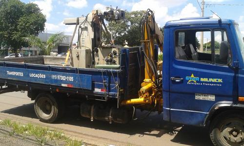 caminhão munck de pequeno porte ( 1,5tn )