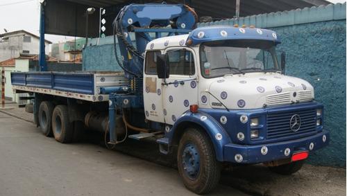 caminhão munck munk mb 1524 1525 1620 guindaste masal