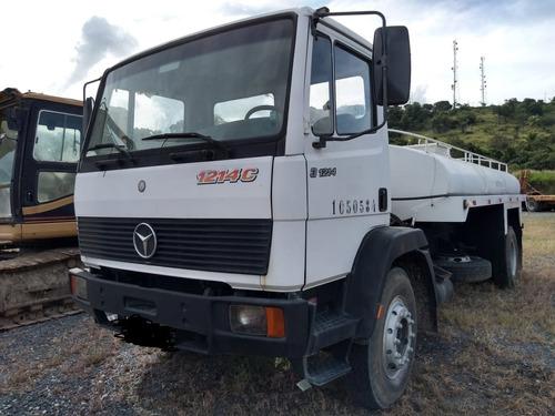 caminhão pipa m. benz 1214c 1997