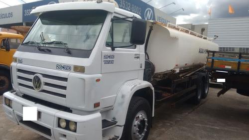 caminhão pipa vw 26310 2001/2002