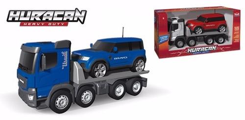 caminhão plataforma bravo de brinquedo grande infantil