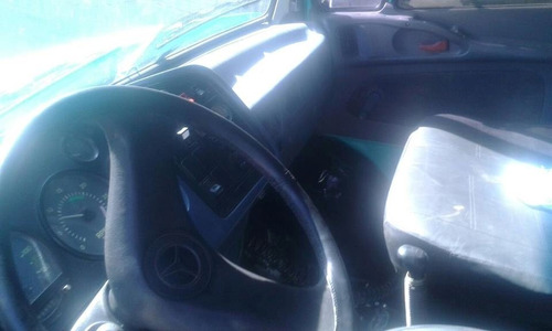 caminhão poliguindaste mercedes bens l 1218r  com bruck 2001