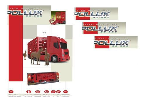 caminhão pollux haras brinquedo infantil