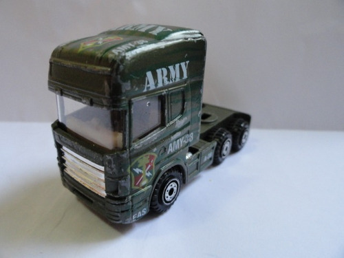 caminhão racing army camuflado