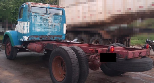 caminhão relíquia mb l 312 alemão - 52/52 - avaliado $70 mil