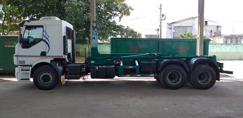 caminhão rollon, poli, vácuo - aluguel