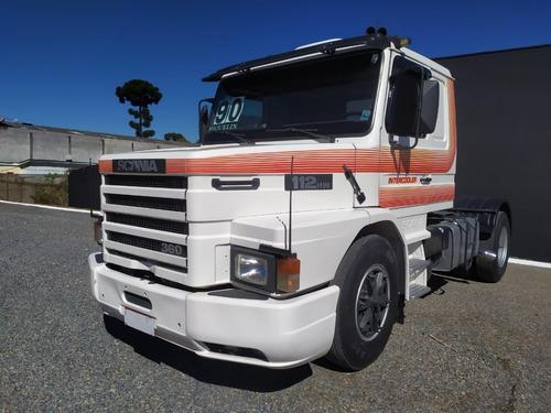 caminhão scania 112 hw 360 toco 4x2 unico dono
