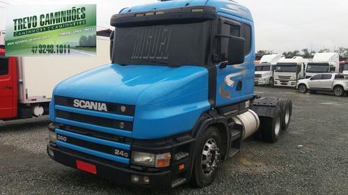 caminhão scania 124 360 - 6x2