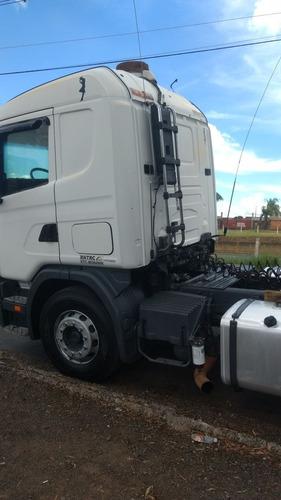 caminhão scania 124 360 6x2/batatais caminhões