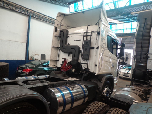 caminhão scania g-420 2011/12 6x2 branca nova