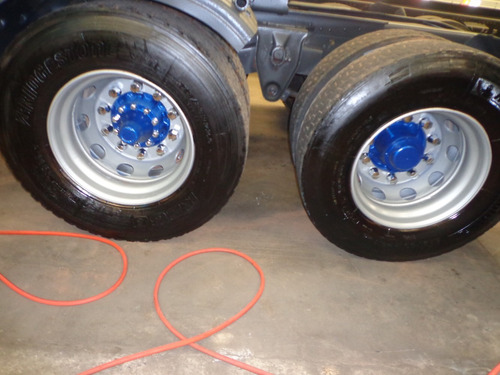 caminhão scania r-380 2006/06 azul truck nova