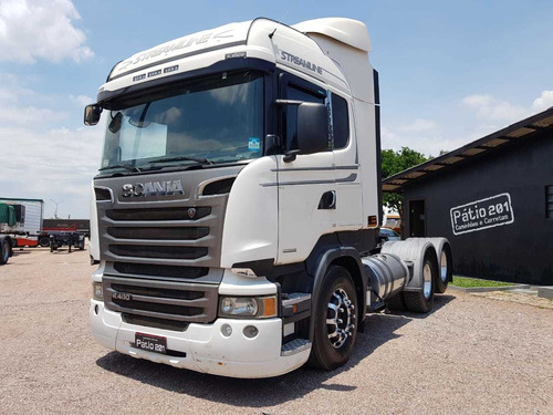 caminhão scania  r 440 streamline 6x2 - opticruise - trucado