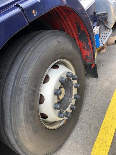 caminhão scania r-440 streamline azul 2014 6x2 nova
