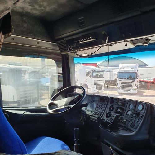 caminhão scania t124 360 bicuda 6x2 trucado t 124 1999