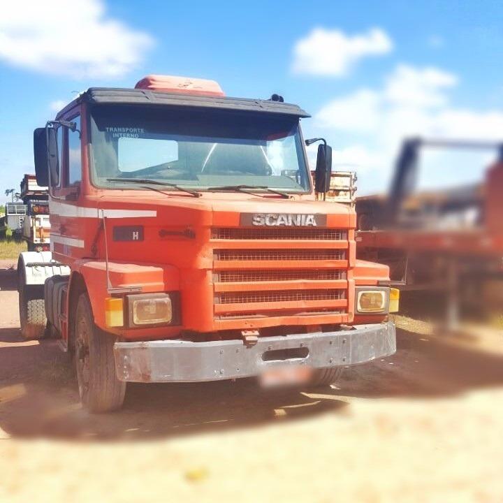 caminhão scania t133h 4x2