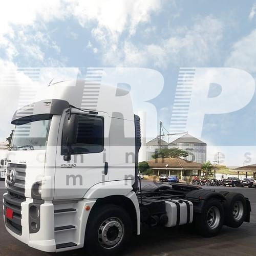caminhão seminovo vw 25.390 ctc 6x2 constellation