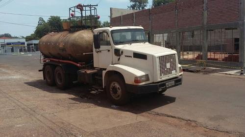 caminhão tanque de agua pipa volvo 6x4 traçado r$ 65.000.