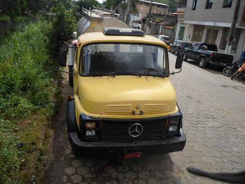 caminhão tanque de leite mercedes-benz mb 1113