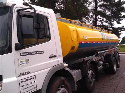 caminhão tanque mercedes atego 2425 2012