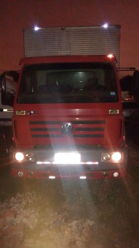 caminhão toco bau volkswagen vw 13170 2º dono - 2001