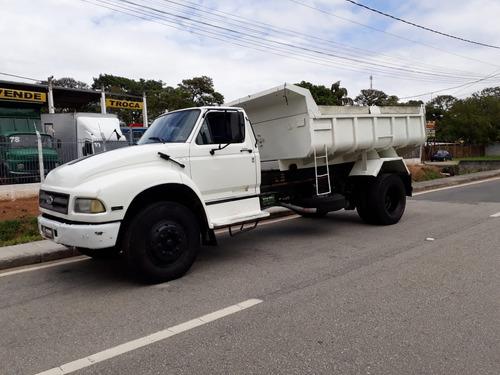 caminhão toco caçamba basculante ford f12000