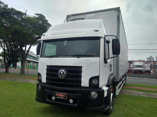 caminhão truck baú 11,5m vw 24-250 - único dono