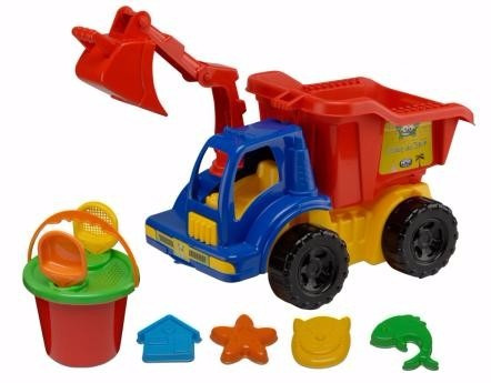 caminhão truck praia com acessórios 11 peças
