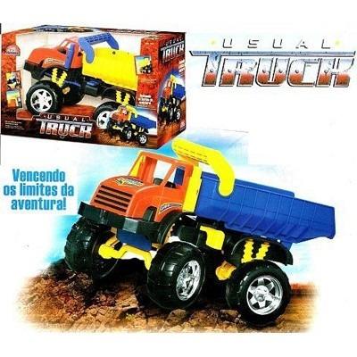 caminhão truck usual plastic basculante