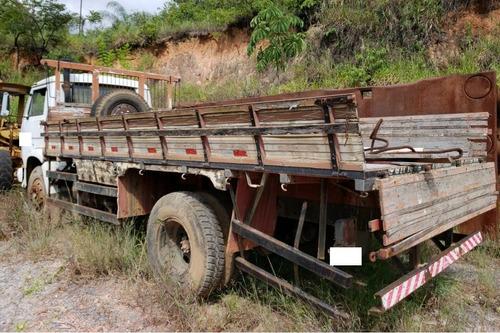 caminhão volkswagen 11140 carroceria - 1988