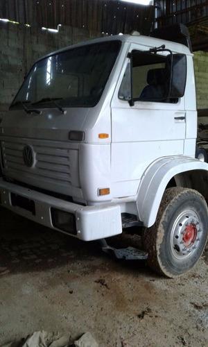 caminhão volkswagen 24220 plataforma prancha reboque 1997