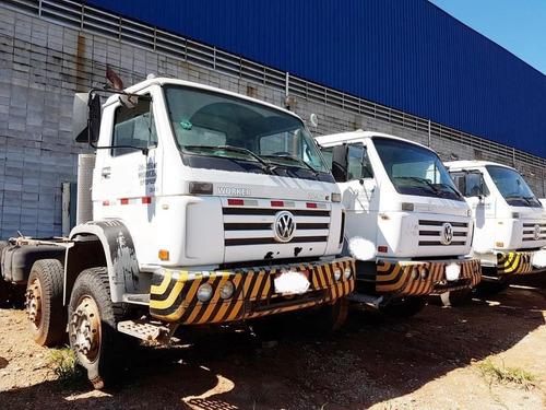 caminhão volkswagen 26-260 8x4 - 2008